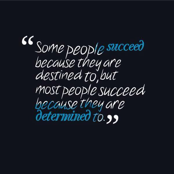 Some People Succeed